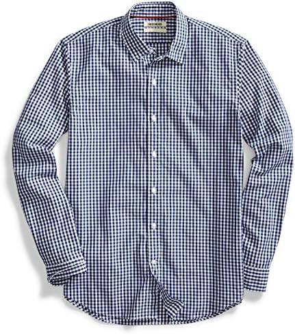 goodthreads de los hombres standard-fit Long-Sleeve Camisa Gingham