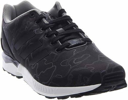 chaussure adidas femme zx flux noir et or