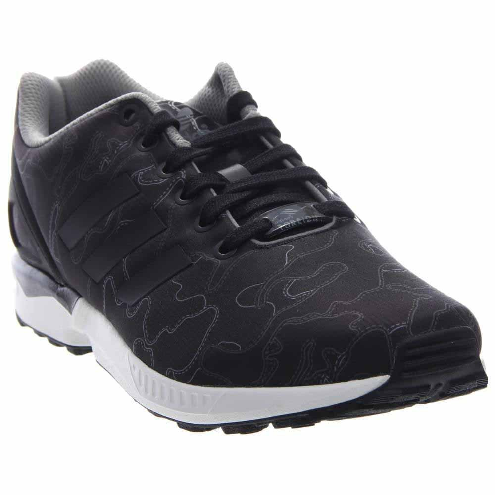 finest selection c8546 bd49f Adidas Zx Flux Core Black running White Men s Shoes Aq4902 Black 10 D(M)  US Buy Online at Low Prices in India - Amazon.in