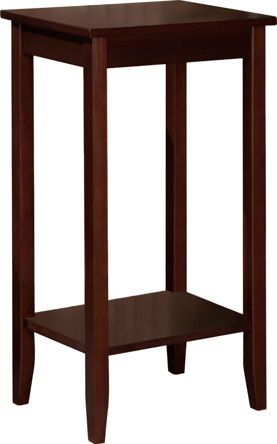 amazoncom set of  rosewood tall end tables coffee brown  - amazoncom set of  rosewood tall end tables coffee brown kitchen dining