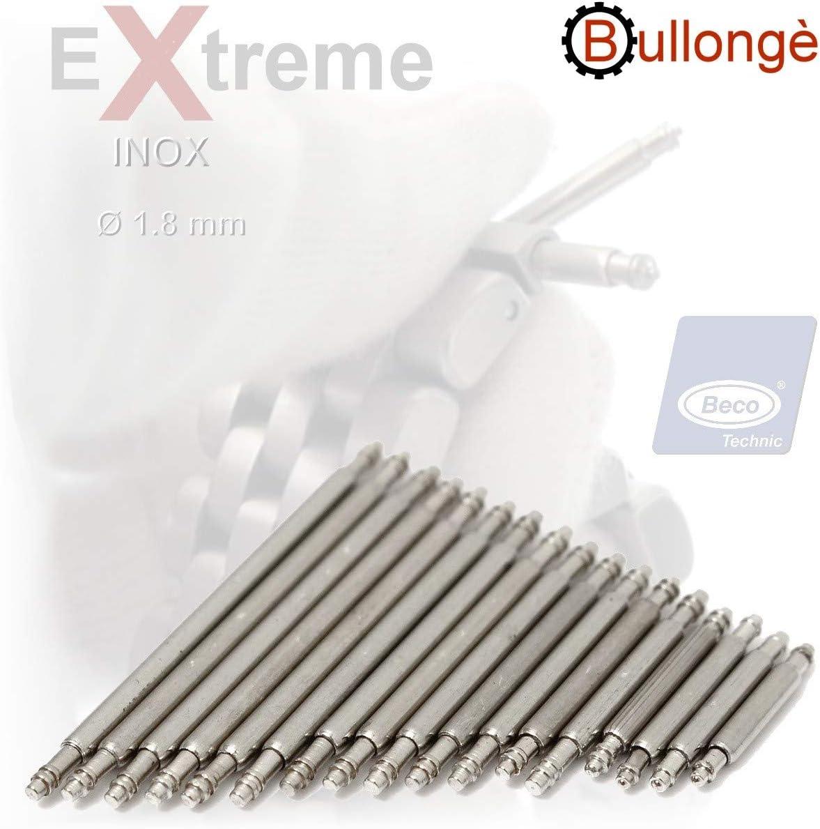 360 extra fuerte Inox barras de resorte 1.8mm Beco Technic