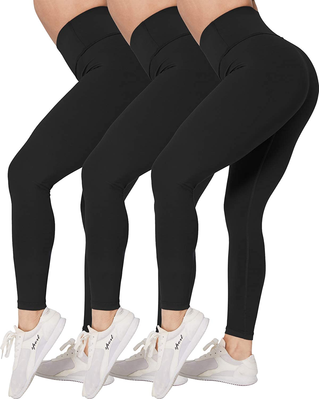 CHRLEISURE Extra Buttery Soft Comfortable Yoga Pants for Women, High Waisted Lightweight Workout Leggings
