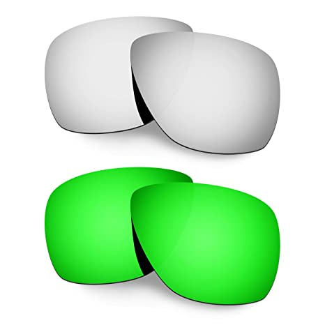 19644df432 Amazon.com  HKUCO Plus Mens Replacement Lenses for Oakley Breadbox - 2  Pair  Sports   Outdoors