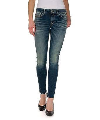 Replay damen skinny jeans luz wx689
