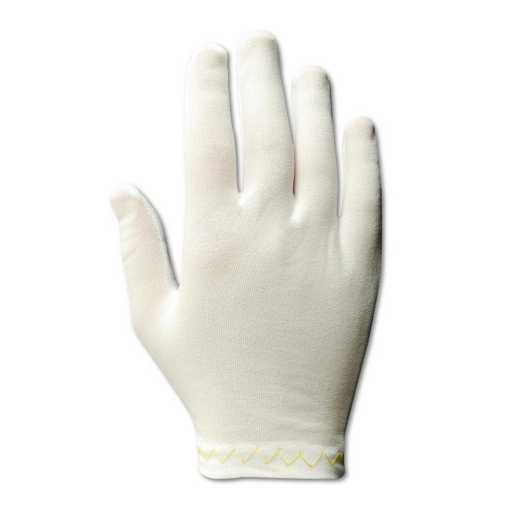 Magid Glove & Safety 5311 Magid Clean Master Men's and Ladies Medium Weight Stretch Nylon Gloves, Men's (Fits), White, Ladies (Fits Medium) (Pack of 12)