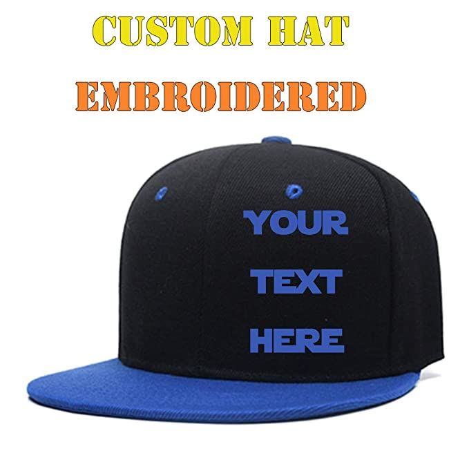 282b5a73e838f Amazon.com  Men Women Custom Text Embroidered Hat Team Christmas ...