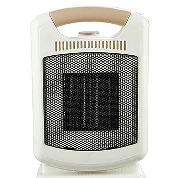 Calentador QFFL, Oficina del Cuarto de baño Debajo de la Temperatura Ajustable Mesa 1800W, Blanco Enfriamiento y calefacción (Color : B): Amazon.es: Hogar