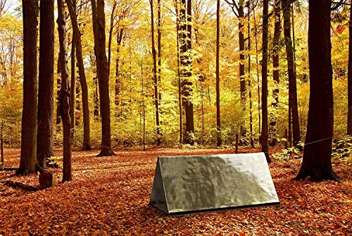 Previous · / Next & Emergency Mylar Survival Shelter Tent u0026 Survival Fire Starter Kit ...
