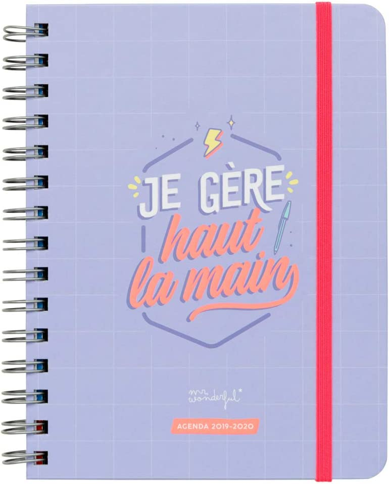 Amazon.com: Mr. Wonderful Sketch 2019-2020 Weekly Diary - Je ...