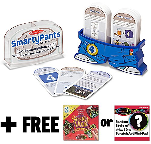 Smarty Melissa Doug Scratch Mini Pad