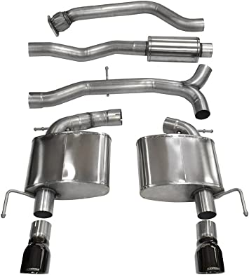 CORSA 14328BLK Cat-Back Exhaust System