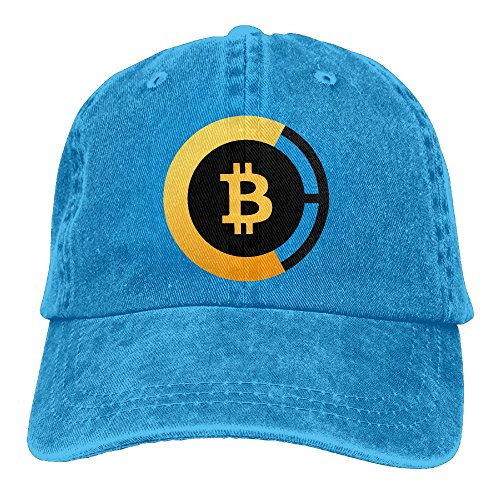 Crypto-coin Cowboy Hat Bitcoin BTC Snapback Curved Baseball Hats 100% Cotton Adjustable Hip Hop Caps For Unisex Dad Cap - 8 Colors