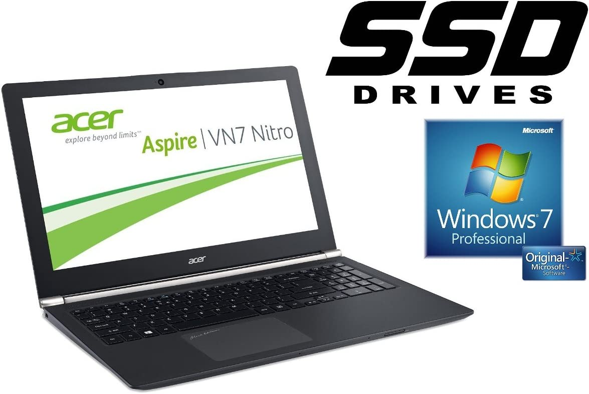 Acer VN7 – 791 G ~ 128 GB SSD + 1TB ~ Windows 7 Pro ~ 44 cm (17.3 ...