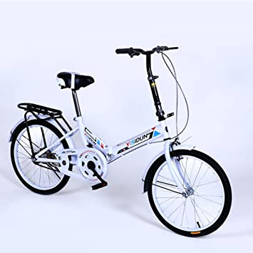 XQ XQ161URE 20 Pulgadas Bicicleta Plegable Velocidad Única Bicicleta Hombres Y Mujeres Bicicleta Adulto Bicicleta Para