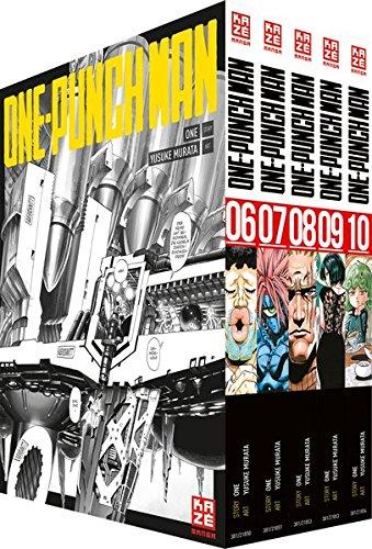 ONE-PUNCH MAN - Box mit Band 6-10: -limitiert- Taschenbuch – 1. Februar 2018 Yusuke Murata John Schmitt-Weigand KAZÉ Manga 288921866X