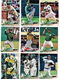 Oakland Athletics/Complete 2018 Topps Series 1 & 2 Baseball 20 Card Team Set! Includes 25 bonus Athletics Cards!