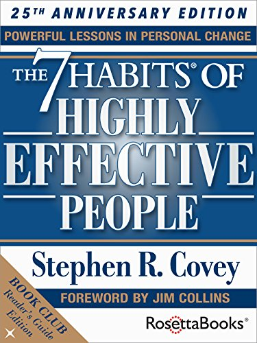 The 7 Habits of Highly Effective People: The Reader's Guide Edition