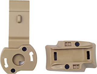 product image for Princeton Tec MPLS-ABR Above The Rail Mount, Helmet Task Light Mount, Tan
