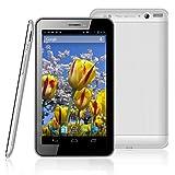 SIMフリー3G Phone Call・Full Function 高解像度7インチタブレット 2014年モデル 完全日本仕様 Wize WA12S-WT7 Android4.2.2搭載 Bluetooth・GPS・Dual-Core・テザリング搭載