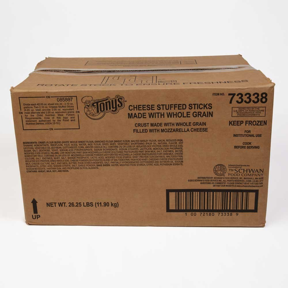 Beacon Street Cafe 51 Percent Whole Grain Cheese Stuffed Sticks -- 200 per case. by Schwan's (Image #2)