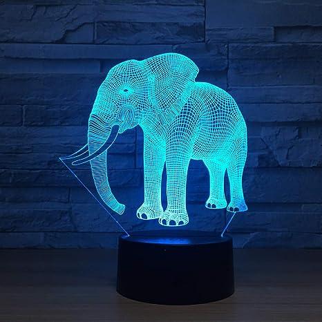 Acrylique Nuit Lumière La De 3d Bébé Lampe NPZwkX8nO0