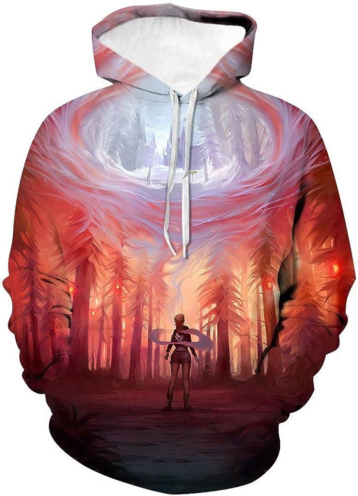 Men Women/'s Hoodie Owl 3D Printing Sweater Sweatshirt Jacket Coat Pullover Tops