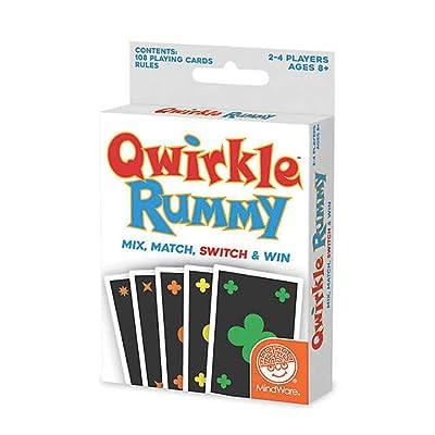 MindWare Qwirkle Rummy: Toys & Games