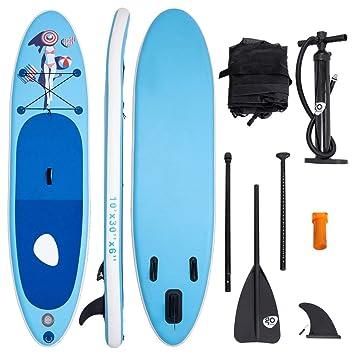 COSTWAY Tabla Hinchable Paddle Surf Sup 335 x 76 x15cm Board Stand Up Set con Remo de Ajustable Bomba Bolsa de Transporte: Amazon.es: Deportes y aire libre
