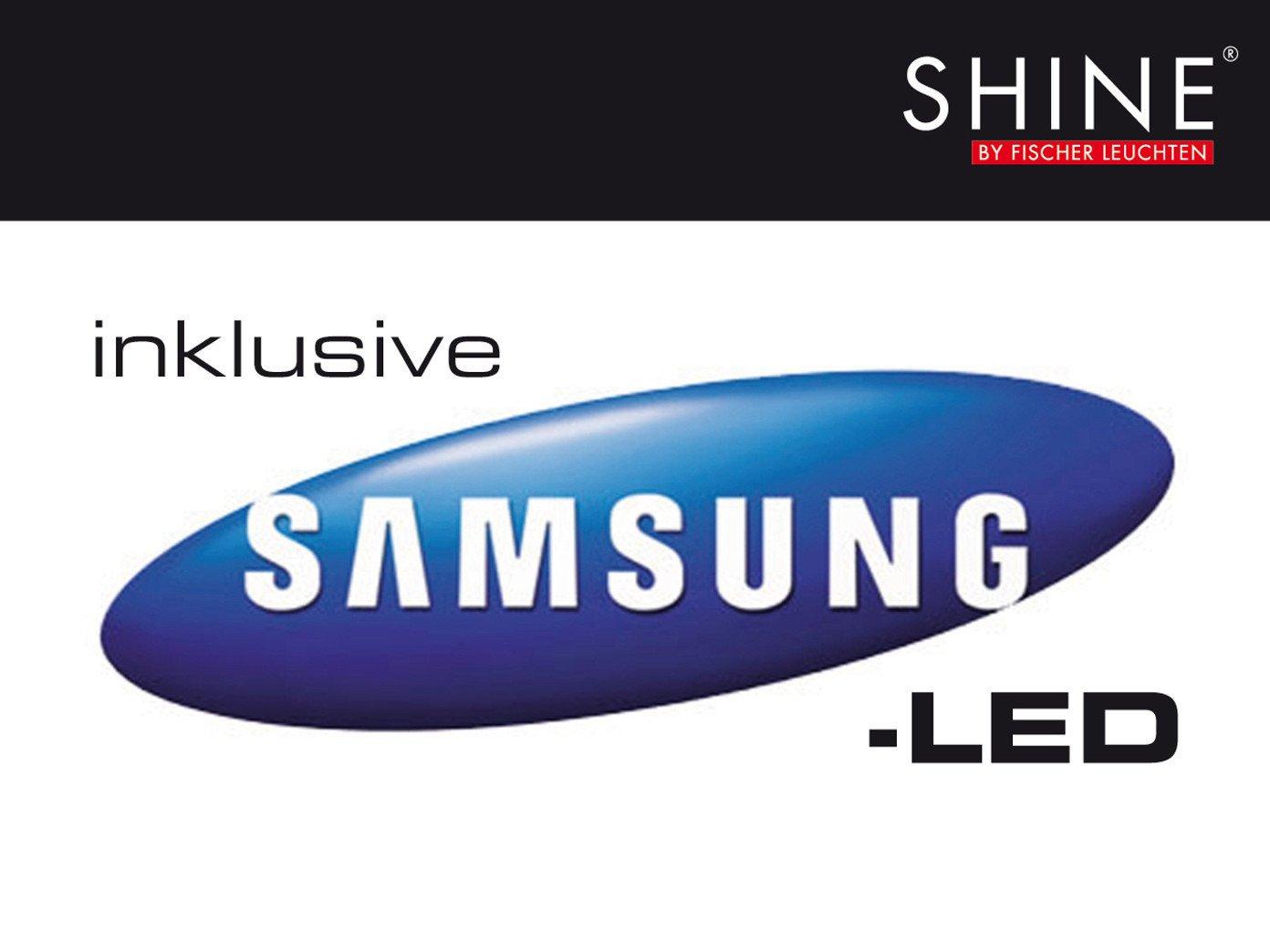 Fischer Leuchten SHINE - LED Deckenfluter, 3-flg.- LED / EEK: A-A++: ...