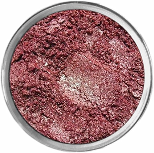 Merlot Loose Powder Mineral Shimmer Multi Use Eyes Face Color Makeup Bare Earth Pigment Minerals Make Up Cosmetics By MAD Minerals Cruelty Free - 10 Gram Sized Sifter Jar