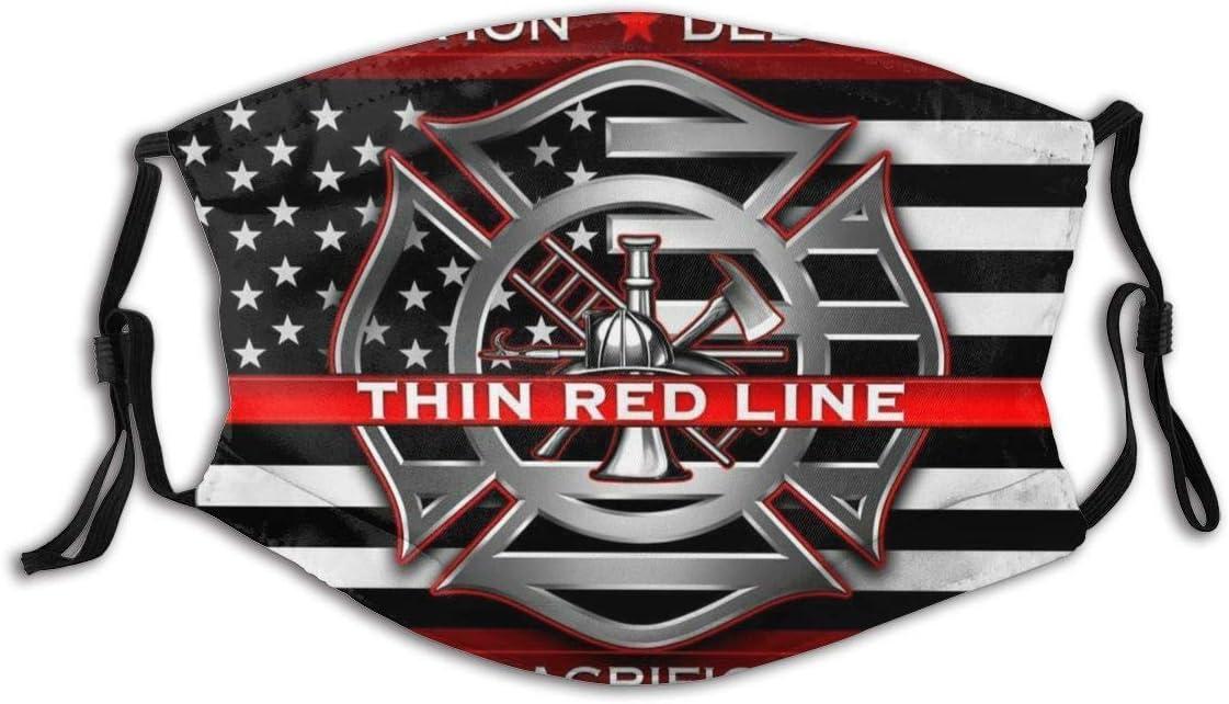 adecuado para correr pescar y ciclismo XUXI Thin LINE Firefighter M/áscara ligera con gancho para la oreja protege del humo y el fr/ío