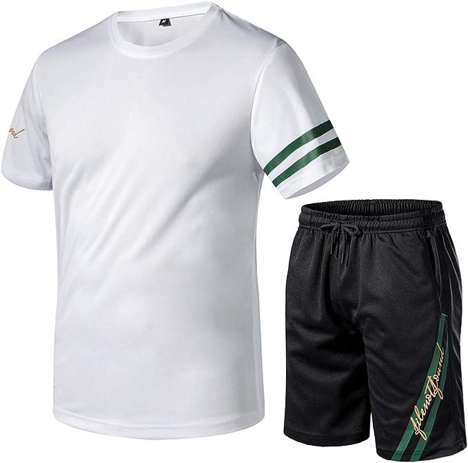 Camisa de Hombre Chándal Chándal Camiseta de Tela de Secado rápido ...