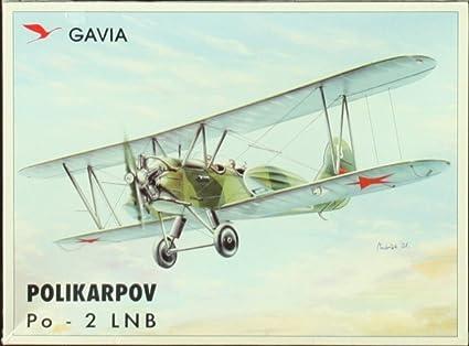 Amazon.com: Gavia 1: 48 Polikarpov Po-2 LNB Modelo de avión ...