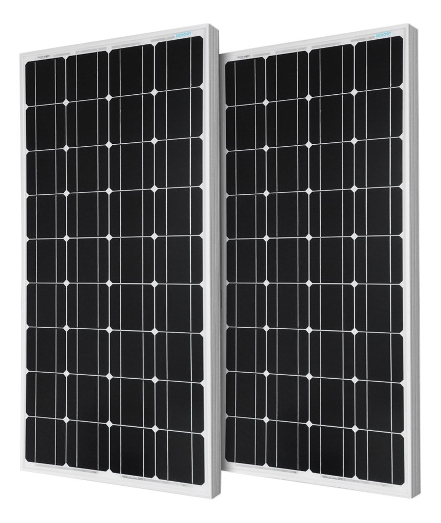Renogy 2 Piece 100W Monocrystalline Photovoltaic PV review