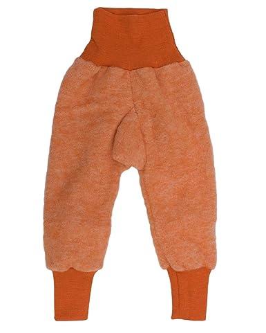 Cosilana Baby Hose mit Bund aus weichem Wollfleece, 60% Schurwolle kbT, 40% Baumwolle (KBA)