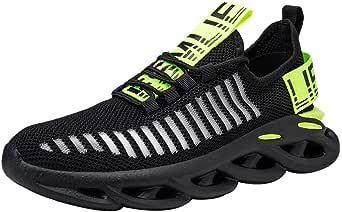Mxjeeio 💖 Zapatillas Running para Hombre Aire Libre y Deporte ...
