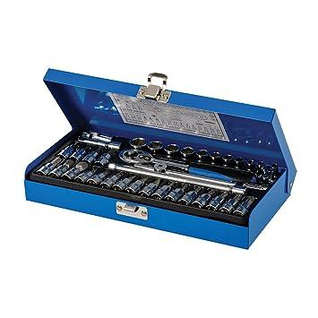 Steckschlüssel Satz 3//8 Nuss Set 8-19 mm Stecknüsse Sechskant Schrauben Nüsse