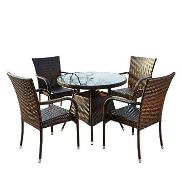 muebles, mesas de comedor, de ratán ocio y sillas, mesas y ...