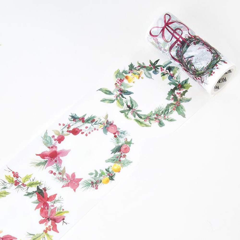 JDGS JDGS JDGS 4 Unids Festival De Navidad Washi Tape Craft Cinta Adhesiva Decorativa DIY Scrapbooking Etiqueta Etiqueta Cinta Adhesiva 7df6a2