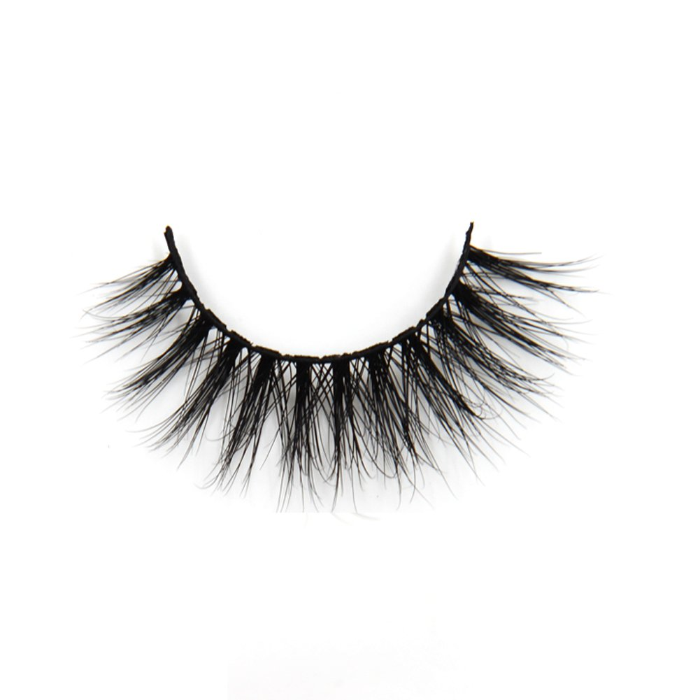 Never short and always sweet, these lashes are great for both day and nighttime wear. Simply place them over the top and base of natural lashes with adhesive. Once secured, apply a coat of mascara over lashes to ensure your faux pair doesn't look fake.