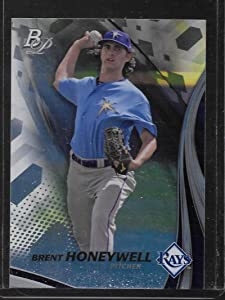 2017 Bowman Platinum Top Prospects #TP-BH Brent Honeywell Tampa Bay Rays