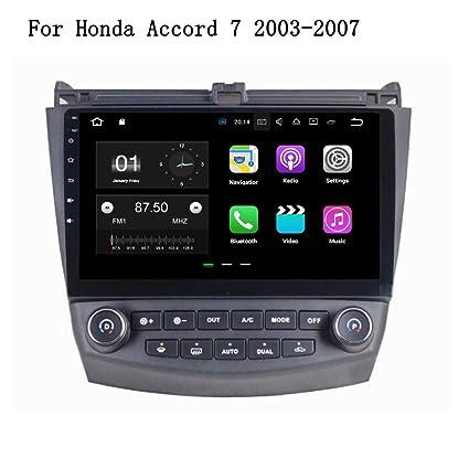 Android 7.1.2 coche Auto de navegación GPS multimedia Jefe Unidad para Honda Accord 2003