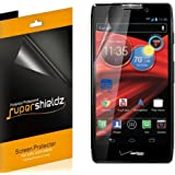 [6-Pack] Supershieldz- High Definition Clear Screen Protector for Motorola Droid Razr HD / Droid Razr Maxx HD XT926 (Verizon) + Lifetime Replacements Warranty [6 Pack] - Retail Packaging