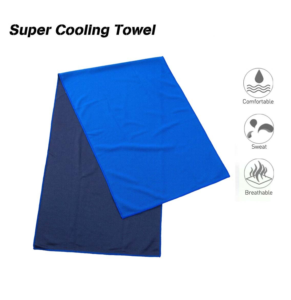 OUFLY Super Sweat Absorbent Cooling Gym Toalla para Deportes ...