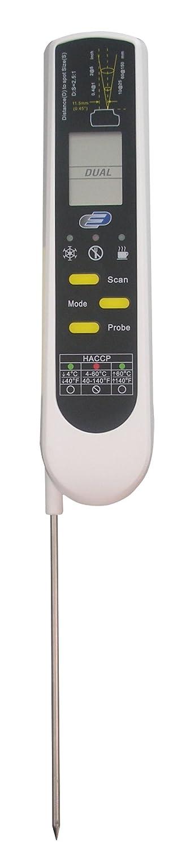 K - Termómetro digital de infrarrojos, conforme EN13485: Amazon.es: Hogar