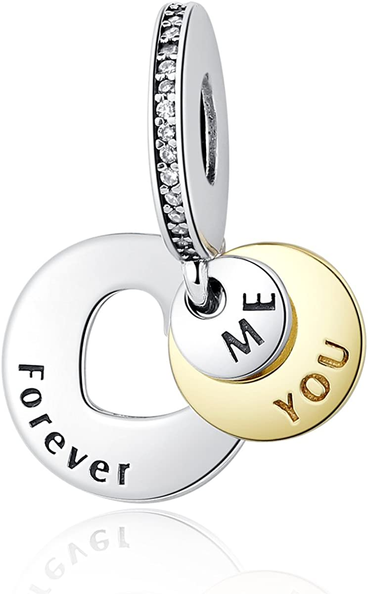 NINGAN You \u0026 Me Forever Together Dangle