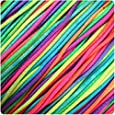 1mm Multicoloured Rainbow Elastic - 5 metres supplied