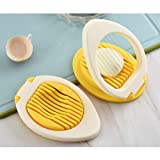 Amiaus Egg Slicer with Stainless Steel Wire,Egg