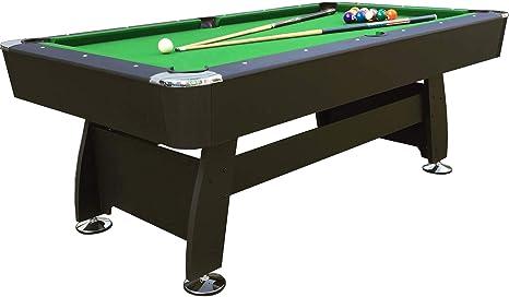 Mesa de Billar Feel Comfort Washington 8 FT (Verde/Negro) Pool ...