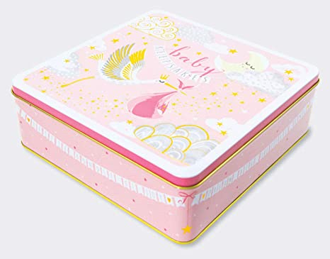 Rachel Ellen Designs - Caja de recuerdos (tamaño grande), diseño de bebé: Amazon.es: Bebé